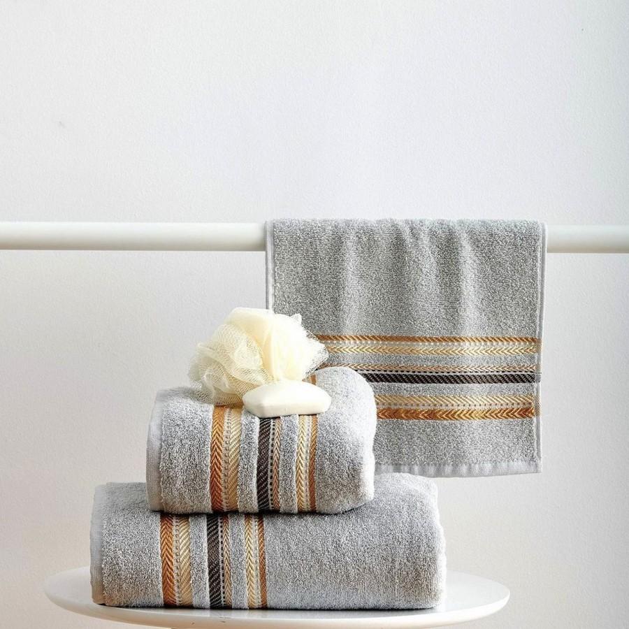 Πετσέτα Προσώπου 50x90 Timothy Grey