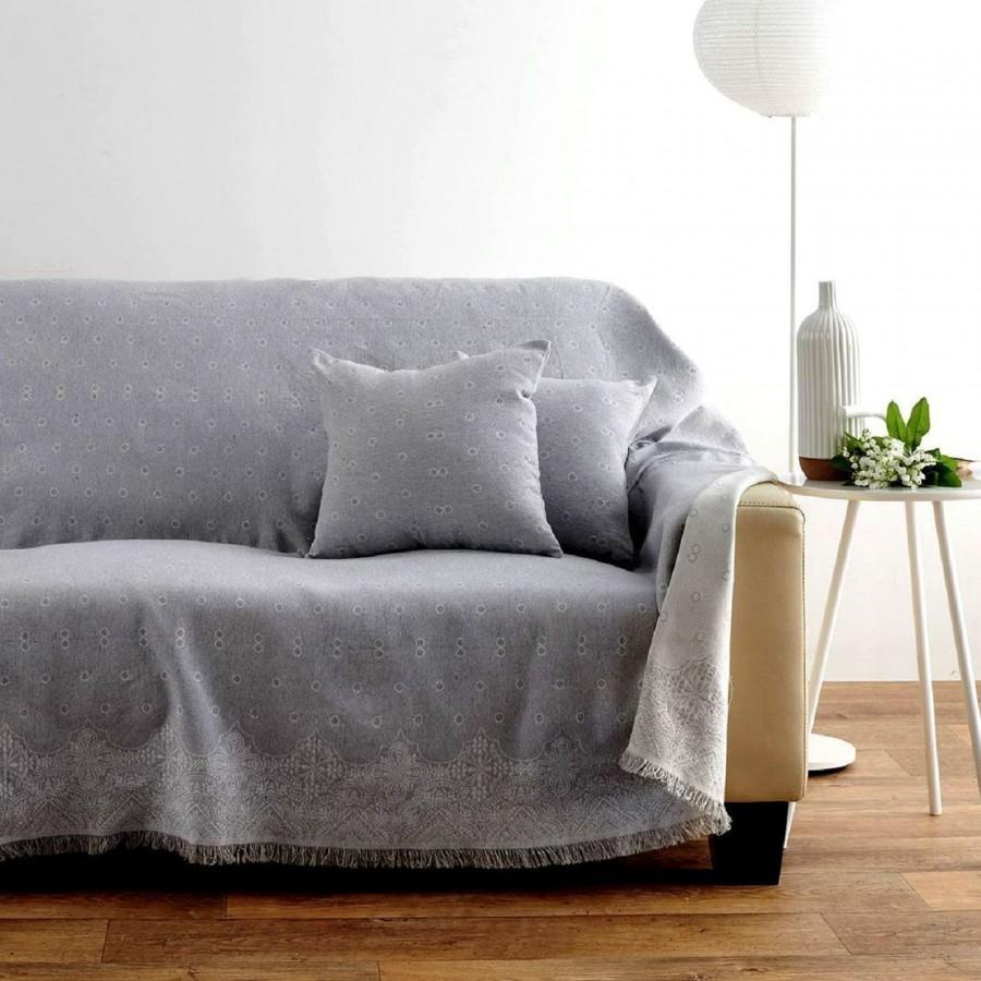 Ριχτάρι Τριθέσιου Καναπέ 180x300 Paris Grey