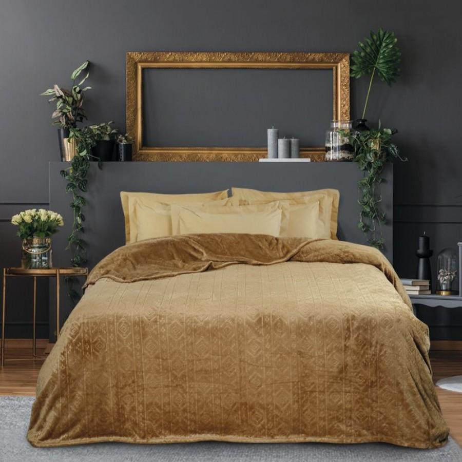0427 Κουβέρτα Fleece Μονή Das Home 160x220