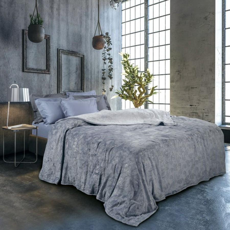 0429 Κουβέρτα Fleece Μονή Das Home 160x220