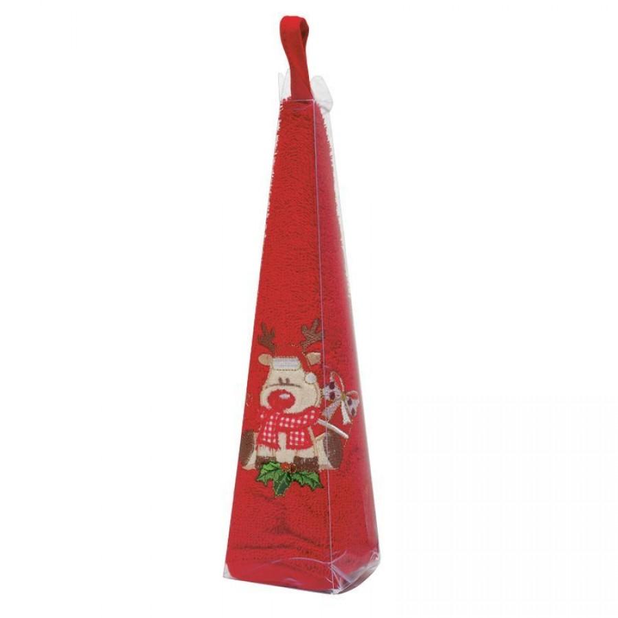 0588 Christmas Πετσέτα Στρογγυλή Das Home Φ 50