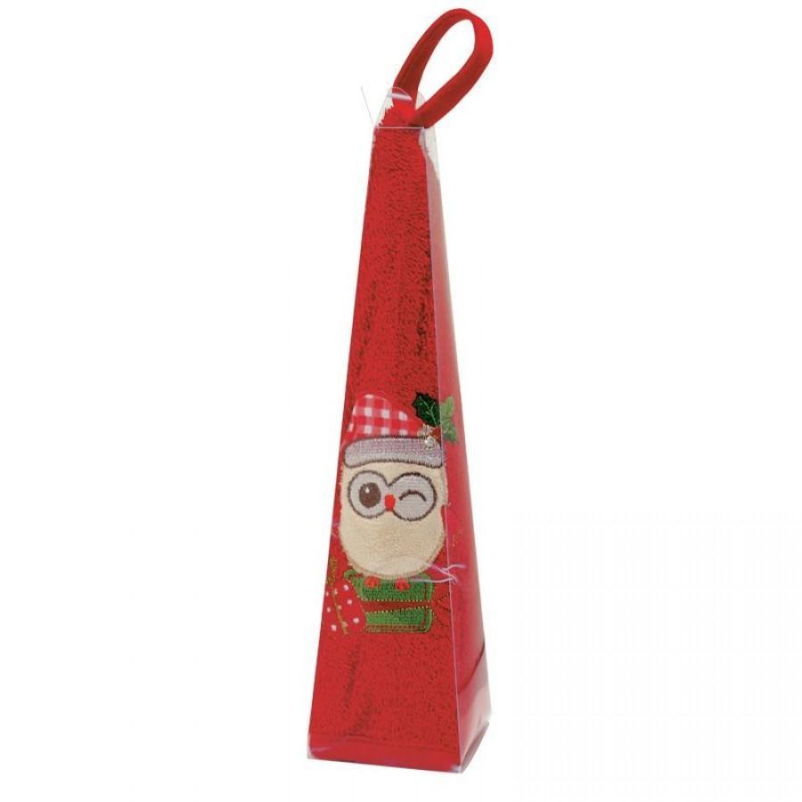 0590 Christmas Πετσέτα Στρογγυλή Das Home Φ 50