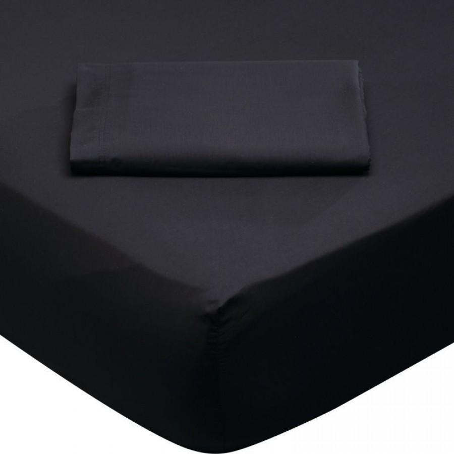 1015 Σεντόνι Μονό Μαύρο Das Home 170x260