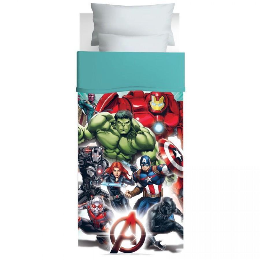 5024 Πάπλωμα Μονό Avengers Das Home 170x260