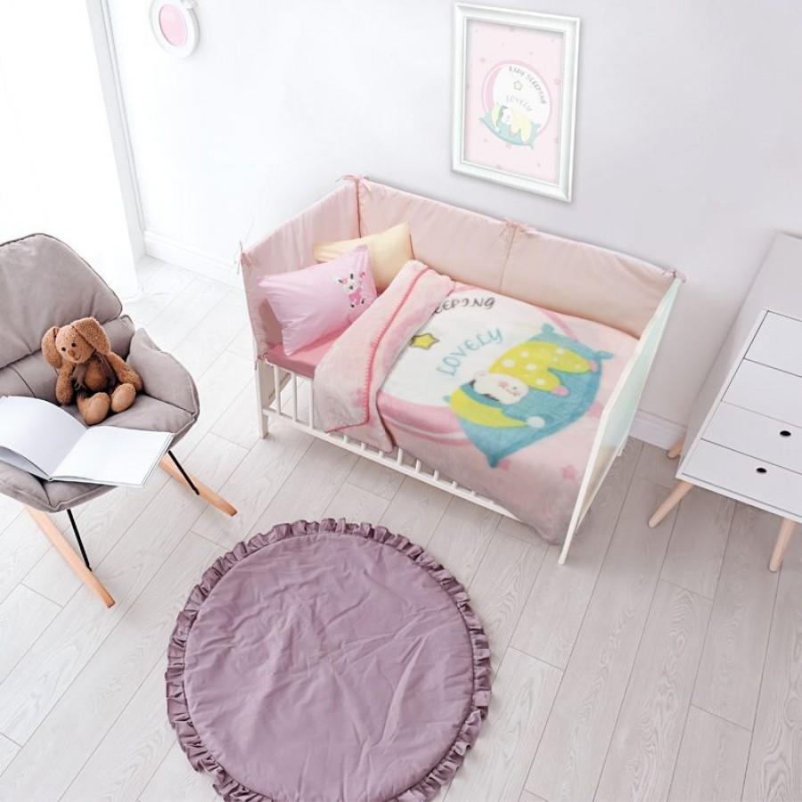 6561 Κουβέρτα Velour Relax Das Home 110x140