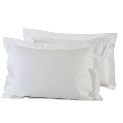 Μαξιλαροθήκες Μονόχρωμες Λευκό 1001 50x70+5