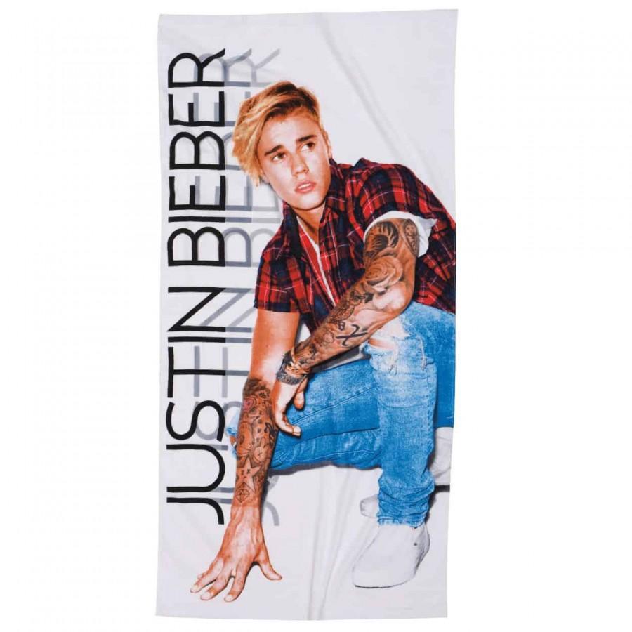 Πετσέτα Θαλάσσης 70x140 Justin Bieber 5806