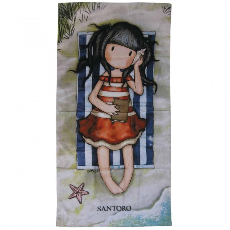 Πετσέτα Θαλάσσης 75x150 Santoro 5809