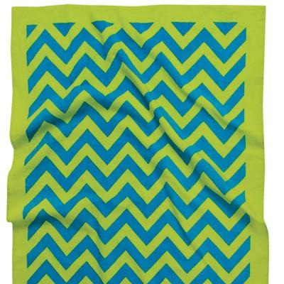 Πετσέτα θαλάσσης πράσινη 75x150 Das home 476