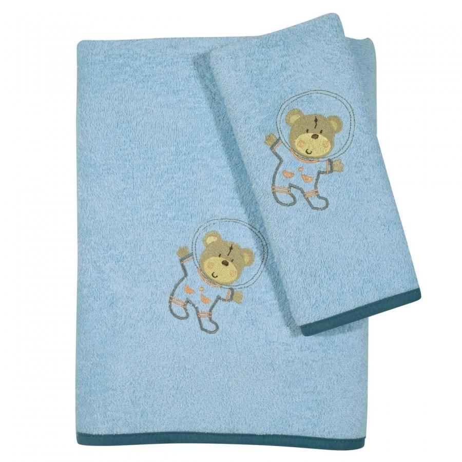 Σετ Πετσέτες Κεντητές Baby Smile 6598 Das Home 30x50 - 70x130