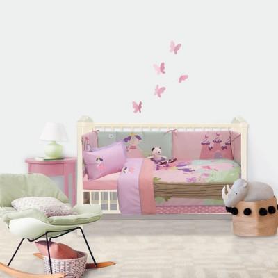 Σετ Βρεφικά Σεντόνια Baby Smile Embroidery 6596 Das Home 120x160