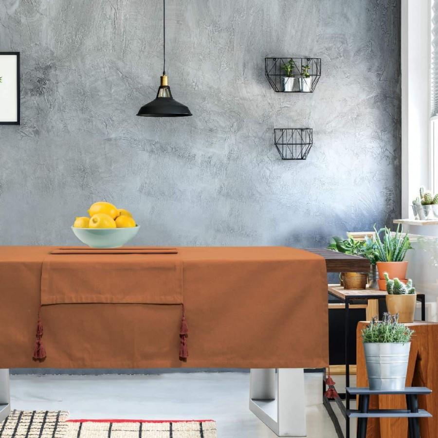 Τραπεζομάντηλο Das Home Kitchen Line 537 140Χ240