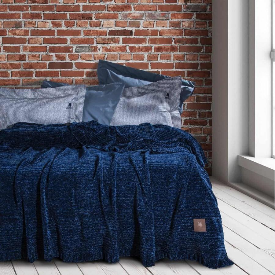 Υπέρδιπλη Κουβέρτα Σενίλ Polo 2424 220x240