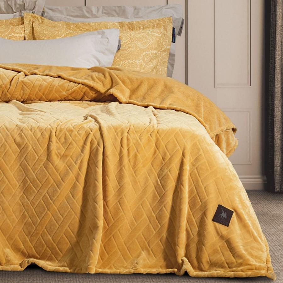Κουβέρτα Fleece Μονή Polo Club 2457 160x220