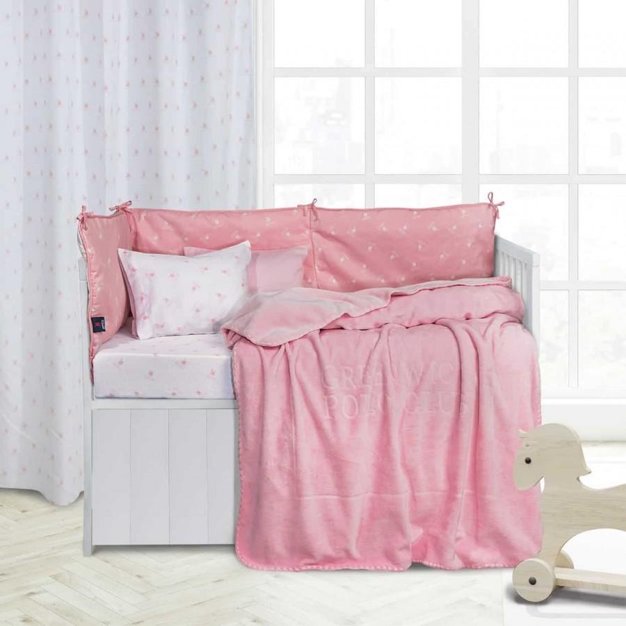 Βρεφική Κουβέρτα Βελουτέ Polo 2952 110x140