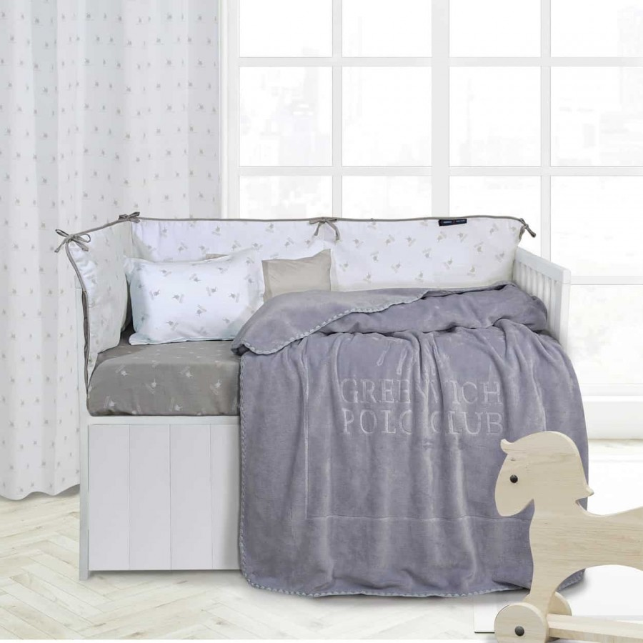 Βρεφική Κουβέρτα Βελουτέ Polo 2953 110x140