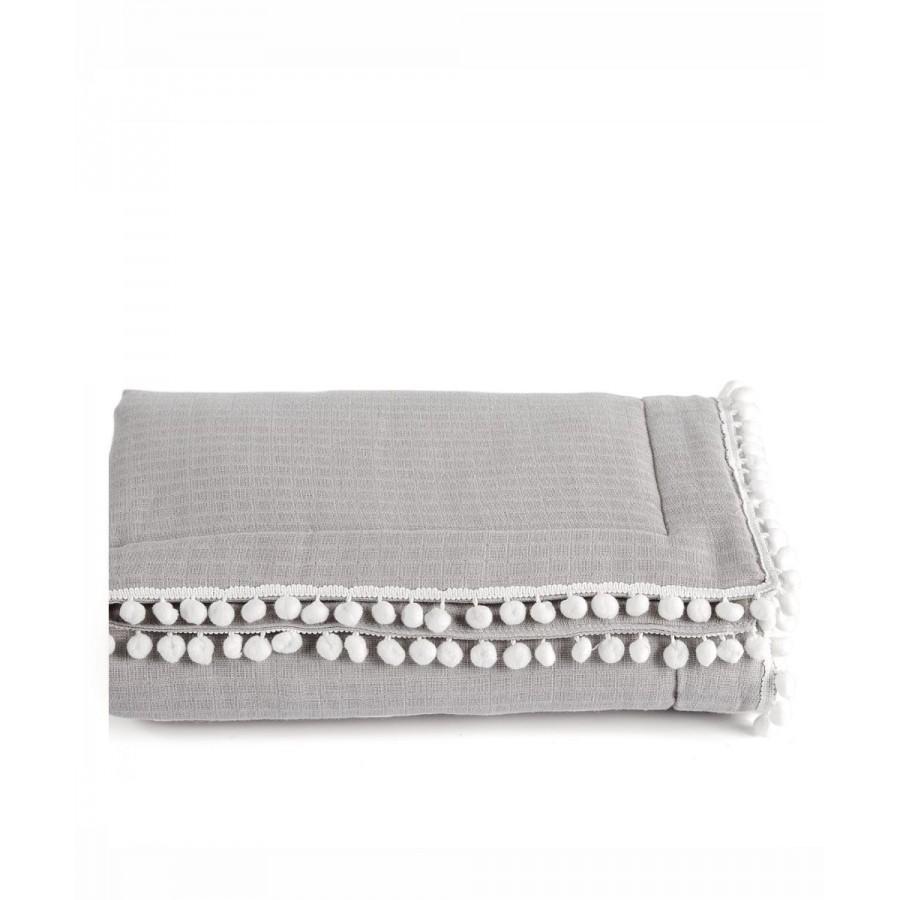 Pon-Pon 22 Κουβέρτα Κούνιας Kentia 100X140