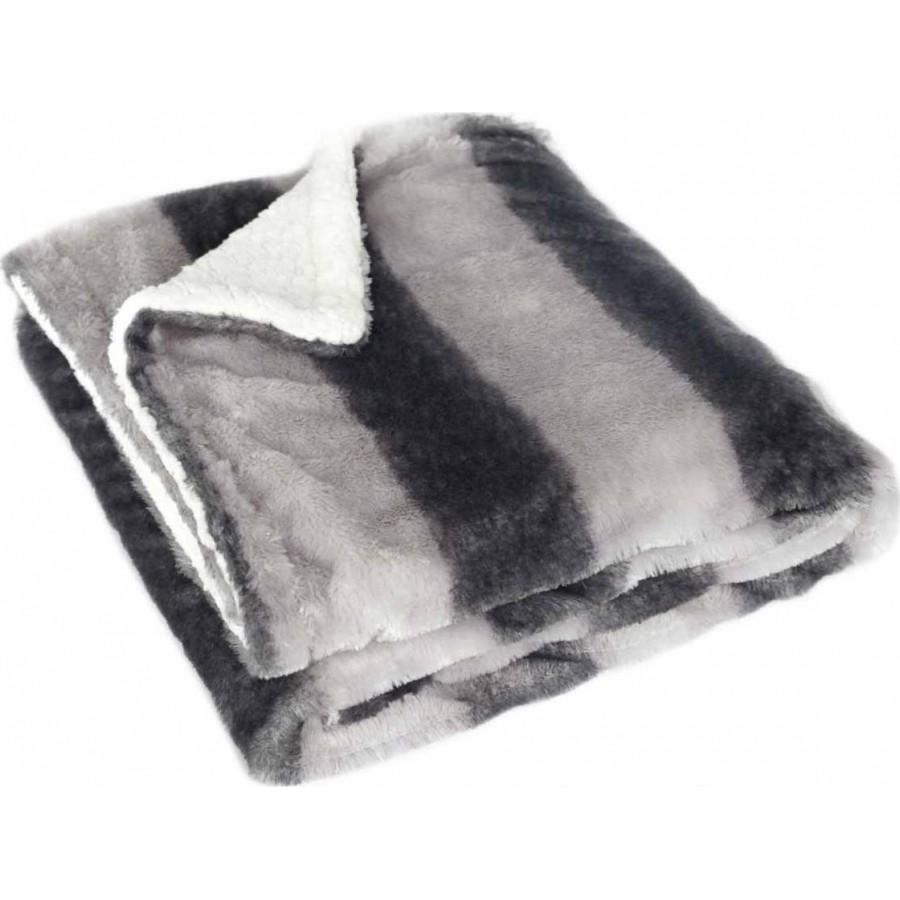 Κουβέρτα Καναπέ Fedor Fedor Grey Melinen 130X170
