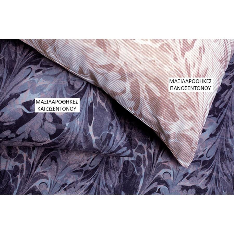 Μαξιλαροθήκες Κ Ultra Brooks Κατωσεντονο Rose Melinen 50Χ70