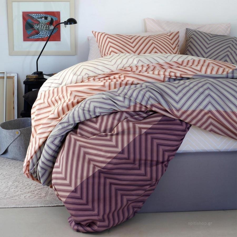 Μαξιλαροθήκες Κ Ultra Monte Κατωσεντονο Purple Melinen 50Χ70