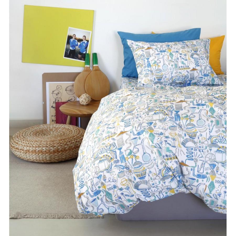 Πάπλωματοθήκη Μονή Kids Dream Maker Boy Melinen 165X260