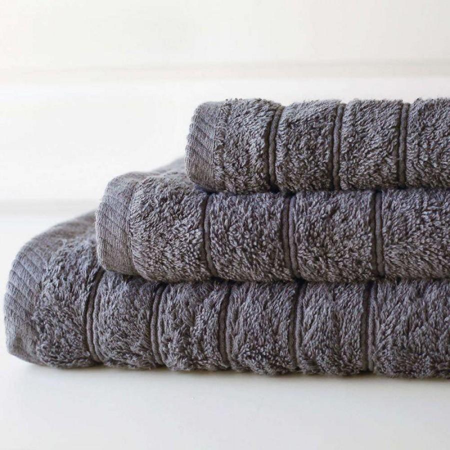 Πετσέτα Μπάνιου Colours Grey Melinen 80Χ150