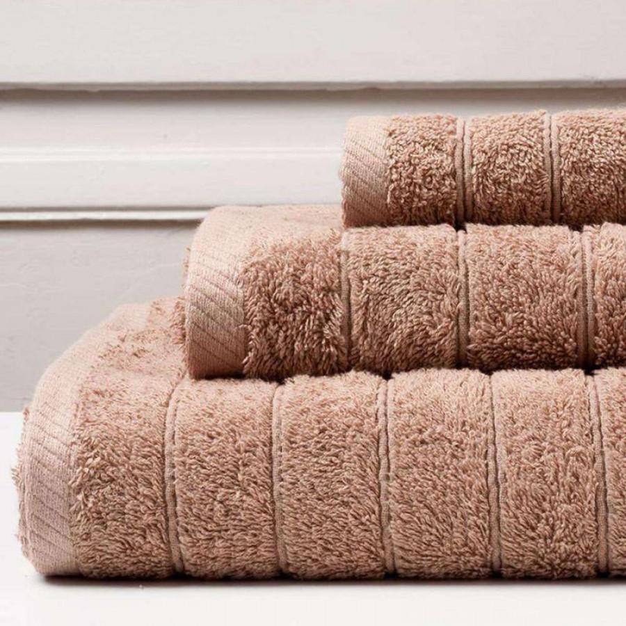 Πετσέτα Μπάνιου Colours Mocca Melinen 80Χ150