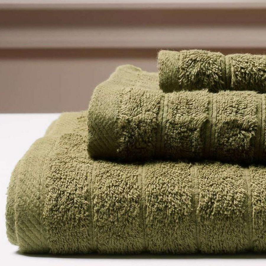 Πετσέτα Μπάνιου Colours Olive Melinen 80Χ150