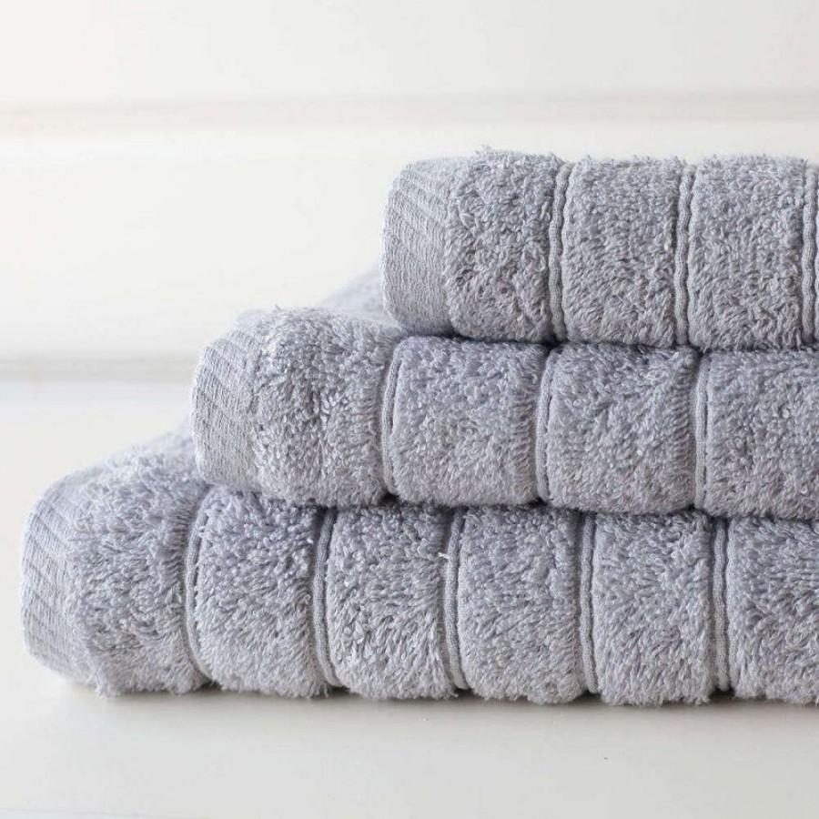 Πετσέτα Μπάνιου Colours Silver Melinen 80Χ150