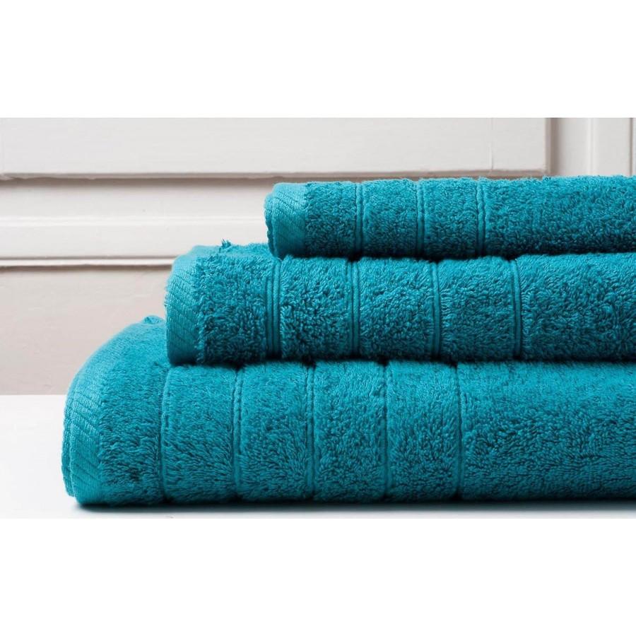 Πετσέτα Μπάνιου Colours Teal Melinen 80Χ150