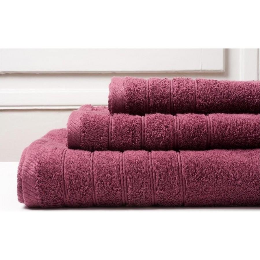 Πετσέτα Προσώπου Colours Burgundy Melinen 50Χ90