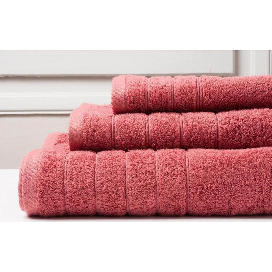Πετσέτα Προσώπου Colours Tango Pink Melinen 50Χ90