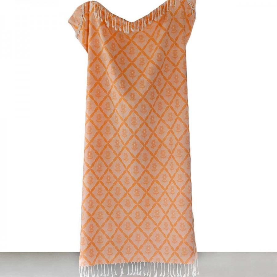 Πετσέτα Θαλάσσης Παρεο Odel Orange Melinen 95X190