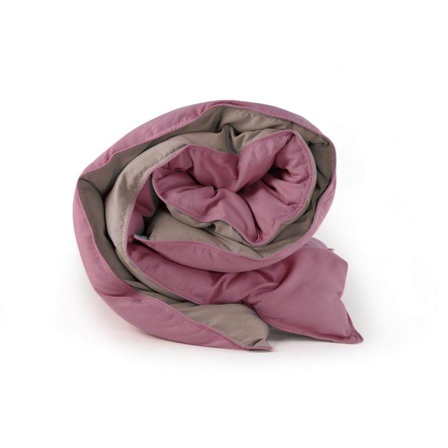 Πάπλωμα Υπέρδιπλο Bicolor Orchid-Beige Nef-Nef 240X220