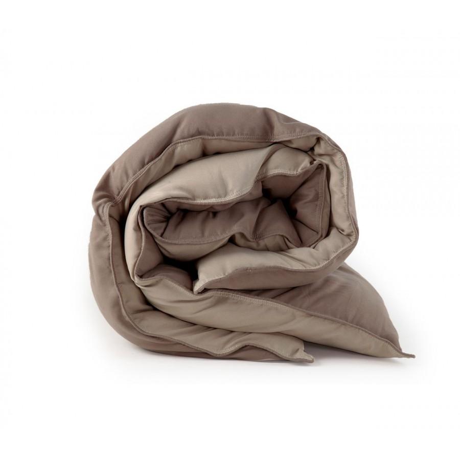 Πάπλωμα Μόνο Bicolor Brown-Mocca Nef-Nef 160X220
