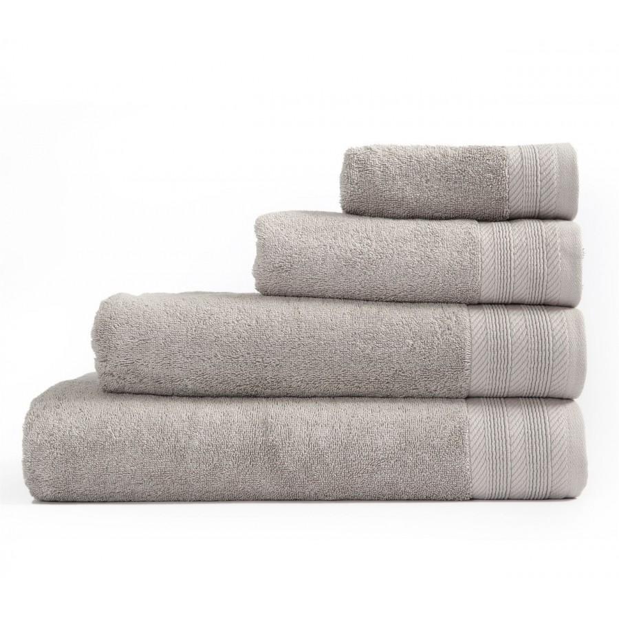 Πετσέτα Μπάνιου Life 725-Grey 70x140
