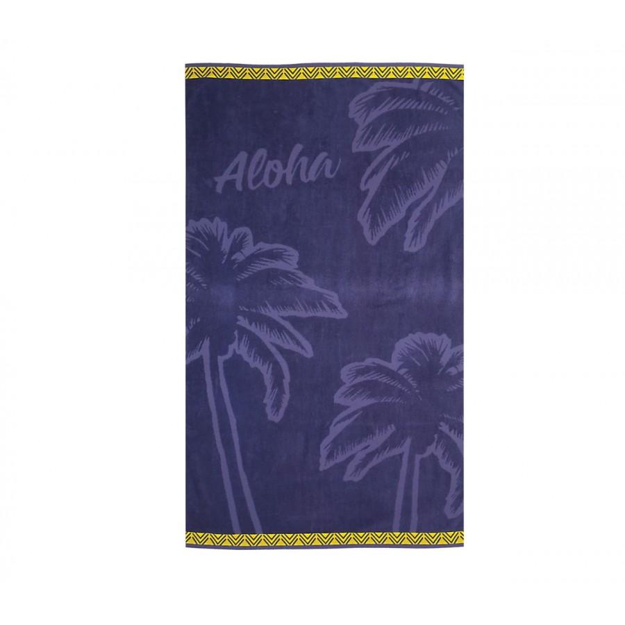 Πετσέτα Θαλάσσης Aloha 80X160 Purple