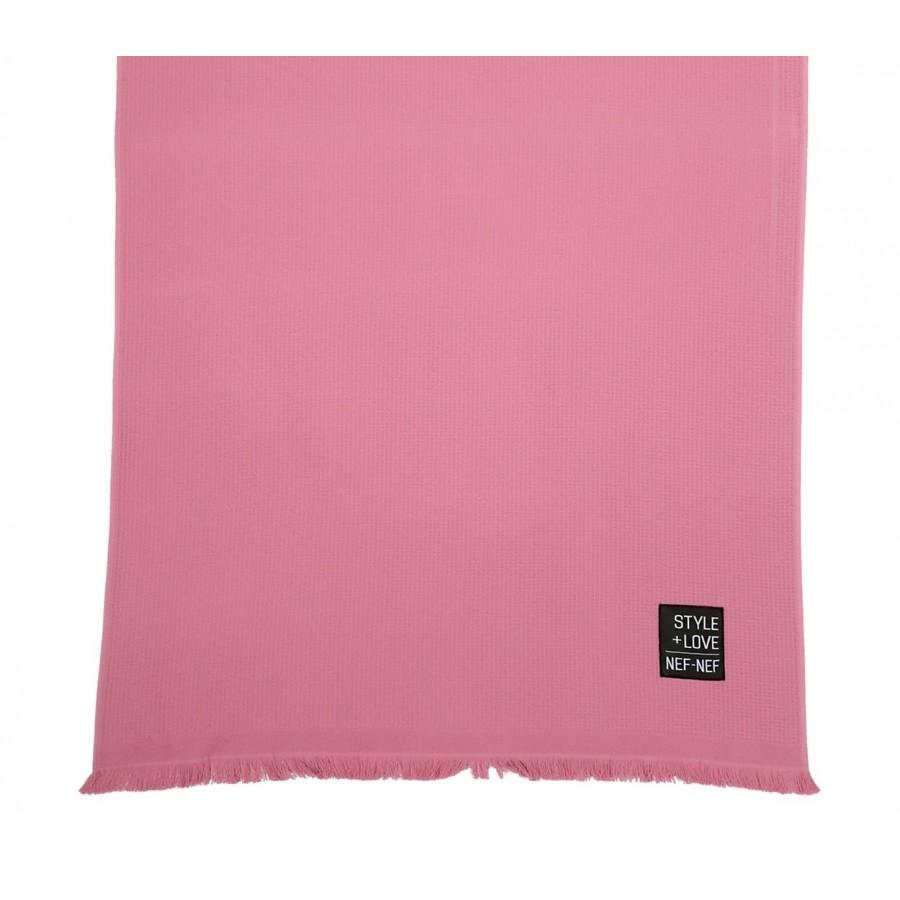 Πετσέτα Θαλάσσης Πικέ Life Style 90X170 Rose