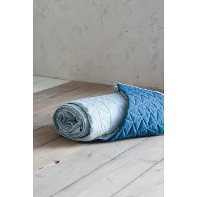 Κουβερλί Ημίδιπλο Brillante Mint Aegean Blue Nima 180X240