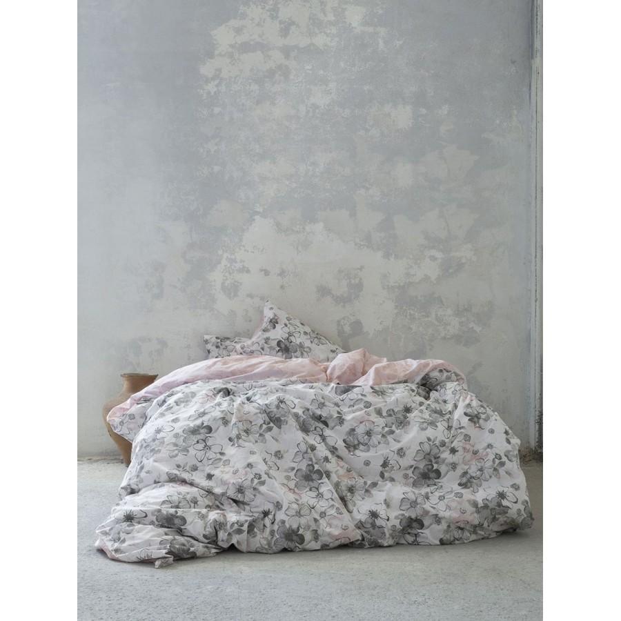 Nima Σετ Σεντόνια Υπέρδιπλα - Brindille Pink 240x260