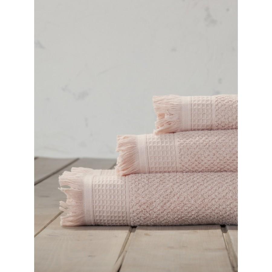 Πετσέτα Προσώπου Dorinda Powder Pink Nima 50X100