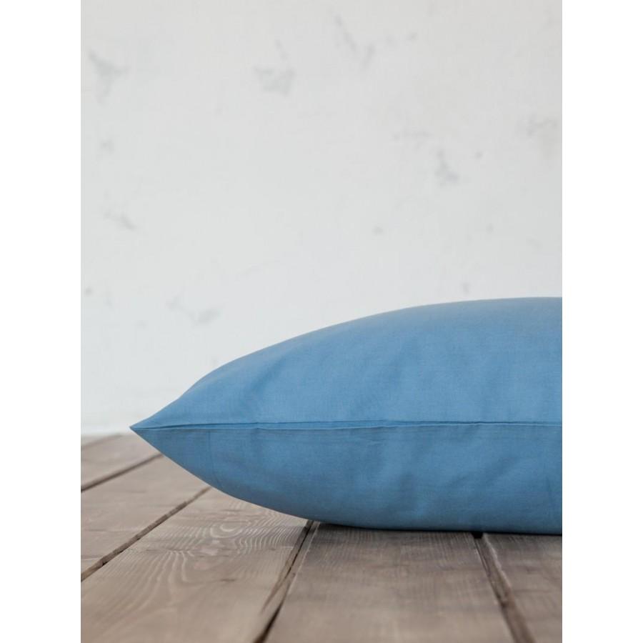 Σεντόνι Υπέρδιπλο Unicolors Shadow Blue Nima 240X260