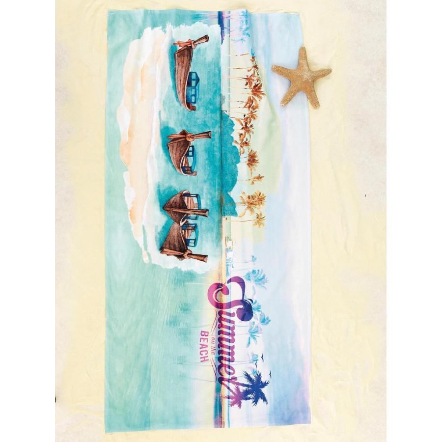 Πετσέτα θαλάσσης yh054 75X150 Palamaiki