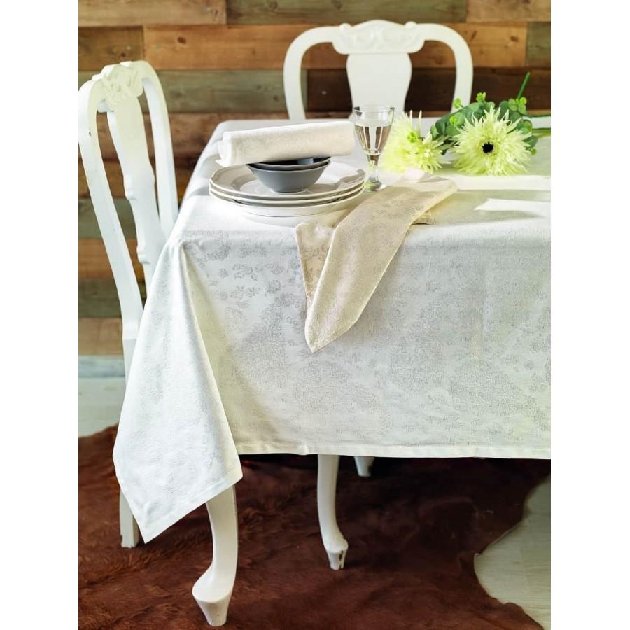 Πετσέτες φαγητού Σετ ethnic Ιβουάρ 45X45 Palamaiki
