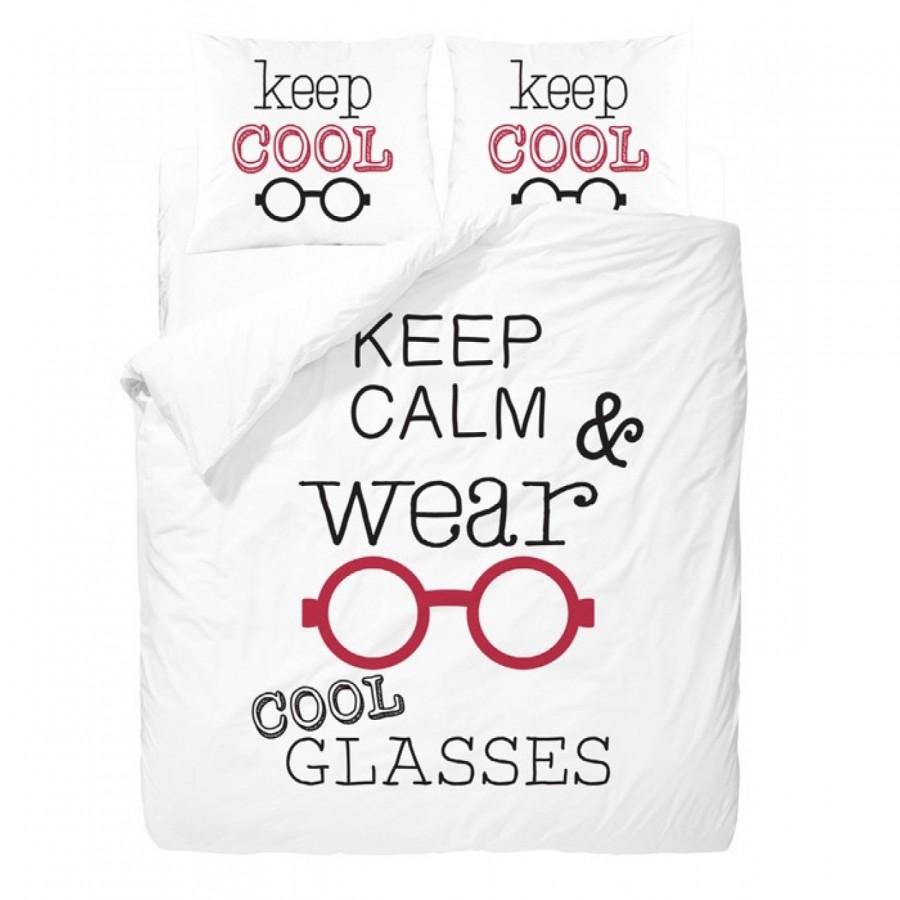 Σετ Σεντόνια υπέρδιπλα kc glasses 240X260 Palamaiki