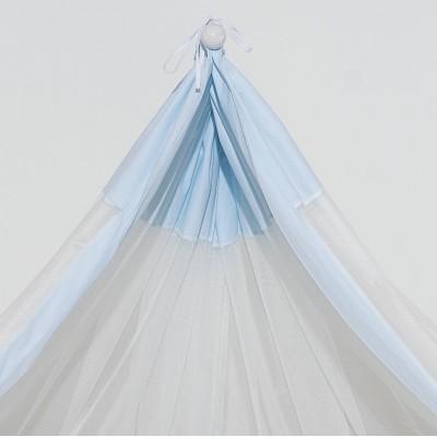 Κουνουπιέρα Γαλάζια Abo 180x510