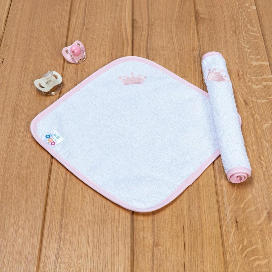Λαβέτα Με Ροζ Στέμμα Abo 30x30