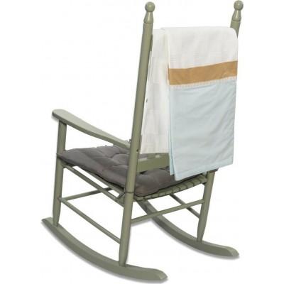 Πικέ Κουβέρτα Safari Σιέλ Abo 100x150