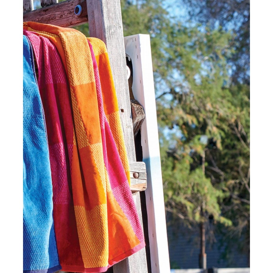 Almira 18  Πετσέτα Θαλάσσης Βελουτέ Kentia 90X180