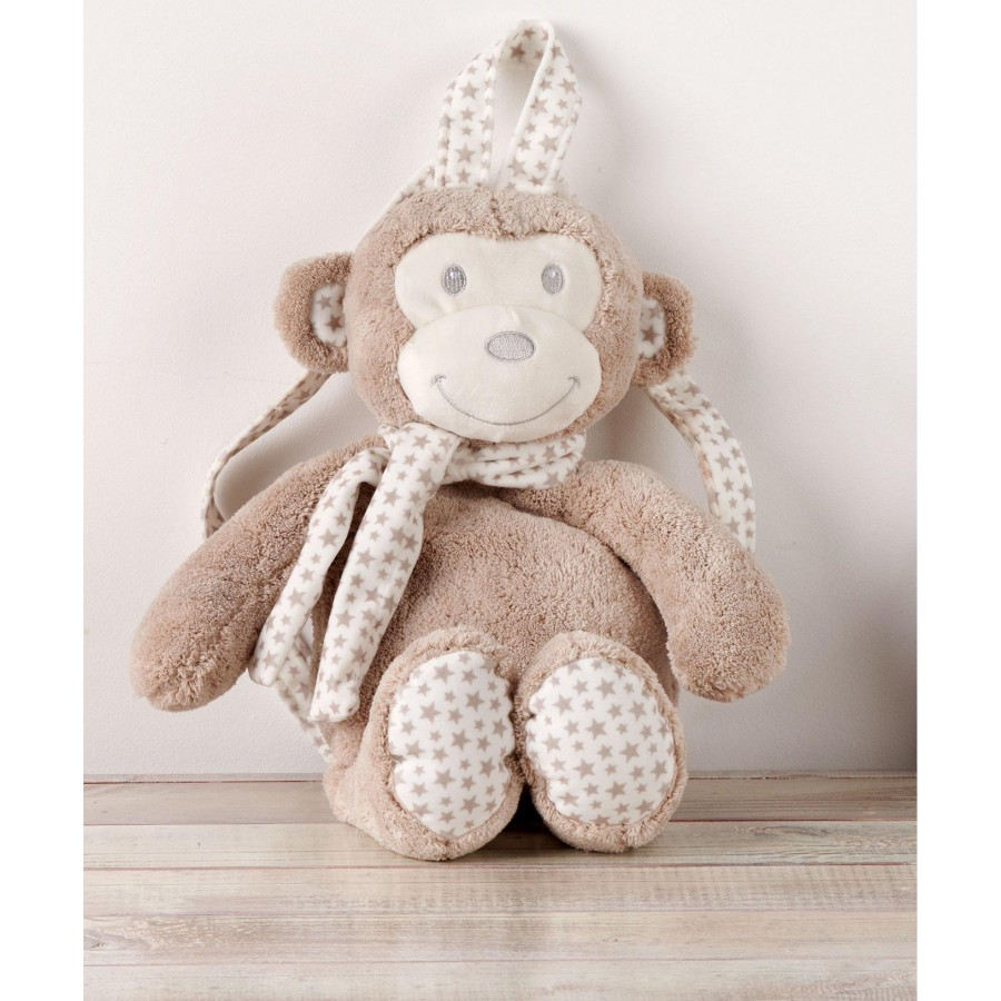Baby Bag 190 Τσαντά Παιχνίδι Beige Monkey  Kentia ΥΨΟΣ 40εκ.